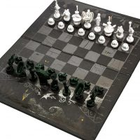 The Nightmare Before Christmas 25 Years Collectors Chess Set