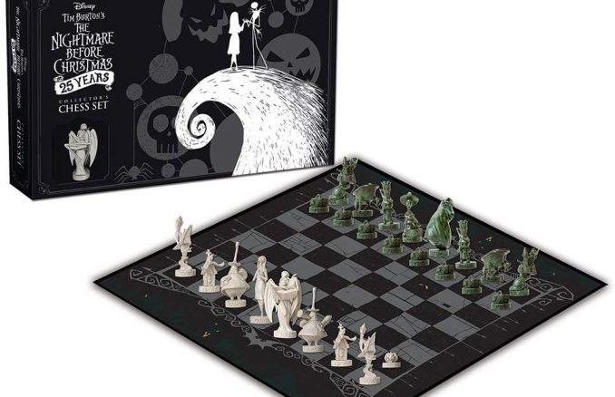 The Nightmare Before Christmas 25th Anniversary Chess Set