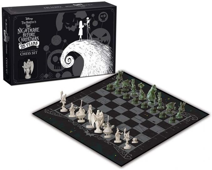 The Nightmare Before Christmas 25th Anniversary Chess Set