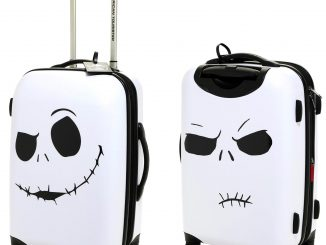 The Nightmare Before Christmas Bone Daddy Spinner Luggage