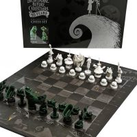 The Nightmare Before Christmas Collectors Chess Set