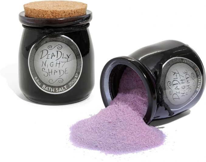 The Nightmare Before Christmas Deadly Night Shade Bath Salt