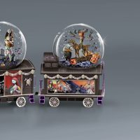 The Nightmare Before Christmas Glitter Globe Train