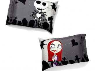 The Nightmare Before Christmas Graveyard Pillowcase Set