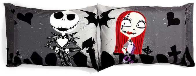 The Nightmare Before Christmas Graveyard Pillowcases