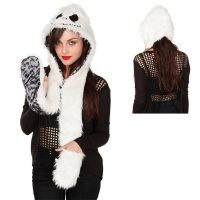 The Nightmare Before Christmas Jack Faux Fur Snood