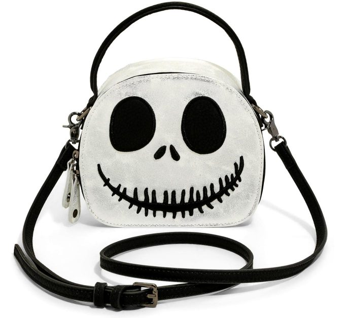 The Nightmare Before Christmas Jack Mini Hatbox Crossbody Bag