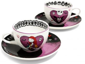 The Nightmare Before Christmas Jack Sally Teacup Set