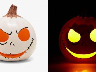 The Nightmare Before Christmas Jack Skellington Pumpkin Head Lamp