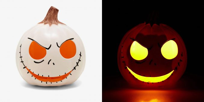 The Nightmare Before Christmas Jack Skellington Pumpkin Head Lamp