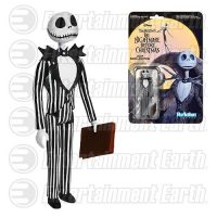 The Nightmare Before Christmas Jack Skellington ReAction 3 3 4-Inch Retro Action Figure