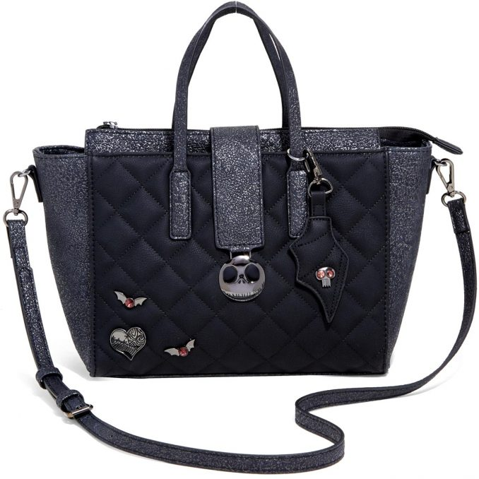 The Nightmare Before Christmas Quilted Icon Satchel