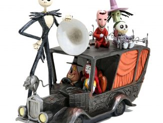 The Nightmare Before Christmas Terror Triumphant Mayor Car Figurine