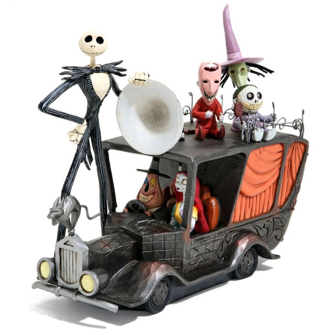 The Nightmare Before Christmas Terror Triumphant Mayor Car Figurine