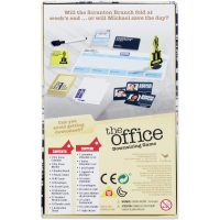 The Office Downsizing Board Game Box Back