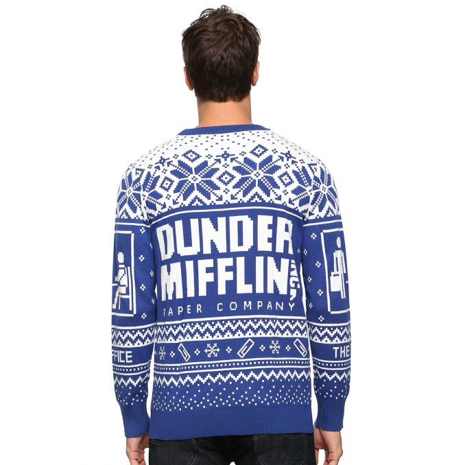 The Office Dunder Mifflin Ugly Holiday Sweater
