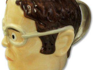The Office Dwight Head-Shaped Mug