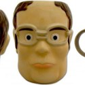 The Office Dwight Schrute Head-Shaped Mug