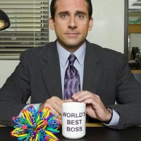 The Office Michael Scott World's Best Boss Mug