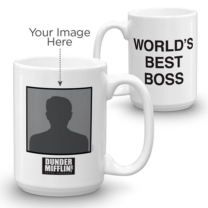 The Office Personalized World's Best Boss Mug
