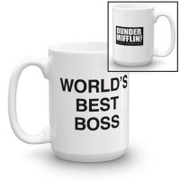 The Office Worlds Best Boss Mug