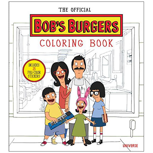 The Official Bobs Burgers Coloring Book