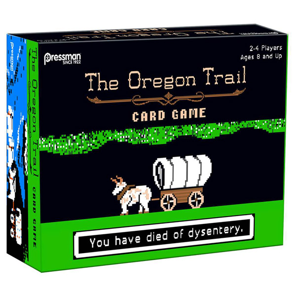 The Oregon Trail Board Game
