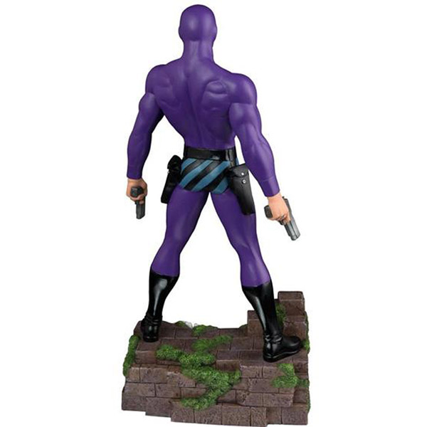 The Phantom Twelve-Inch Statue Back
