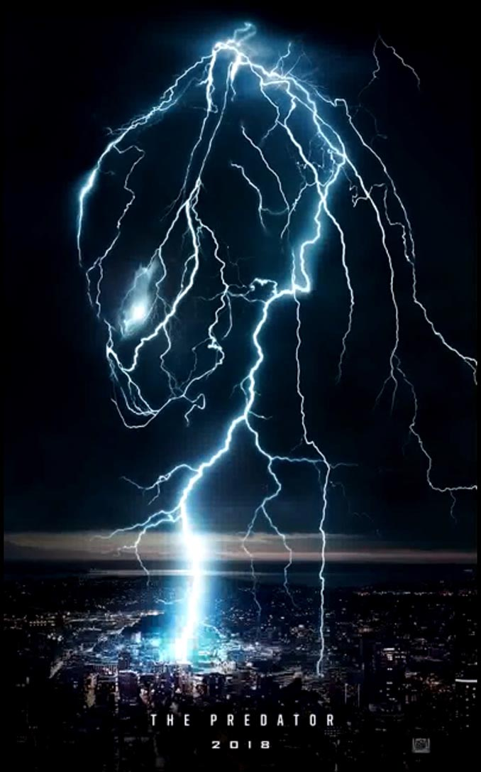 The Predator 2018 Movie Poster