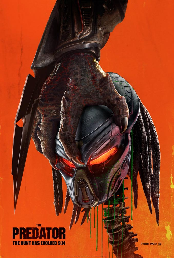 The Predator 2018 Poster