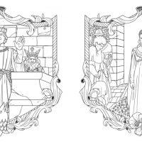 story book character coloring pages   The Princess Bride: A Storybook to Color