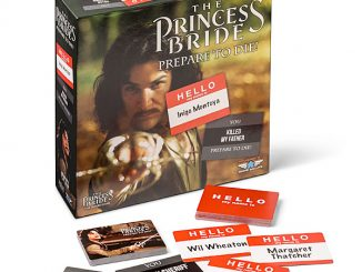 The Princess Bride Prepare to Die Party Game