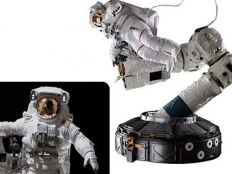 The Real Astronaut International Space Station 1 4 Scale Statue
