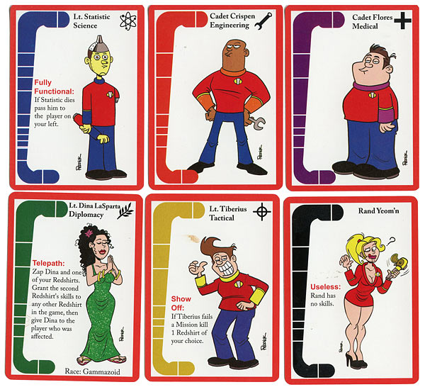 The Redshirts Card Game