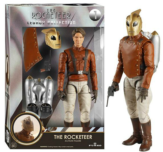 The Rocketeer 6-Inch Legacy Collection Action Figure