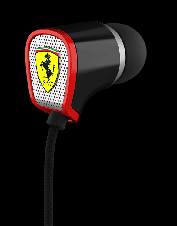 The Scuderia Ferrari Collection R100I Earbuds