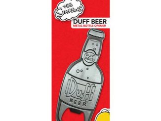The Simpsons Duff Beer Metal Bottle Opener