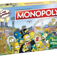 The Simpsons Edition Monopoly Board Game