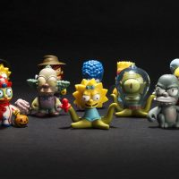 The Simpsons Treehouse of Horror Kidrobot Mini Figures