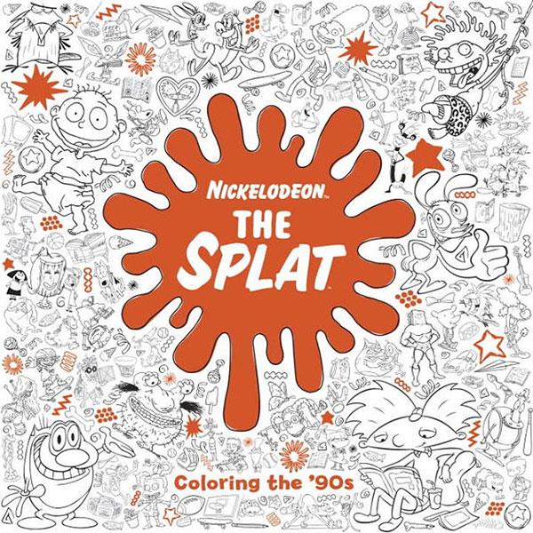 The Splat Coloring the 90s Adult Coloring Book