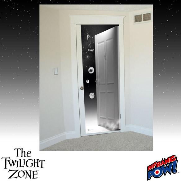 The Twilight Zone Doorway to The Twilight Zone Door Decal