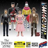 The Twilight Zone Five Characters in Search of an Exit Action Figures