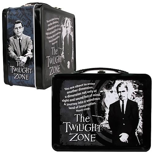 The Twilight Zone Rod Serling Tin Tote