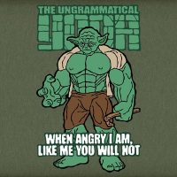 The Ungrammatical Yoda