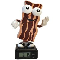 The Wakin Shakin Bacon Alarm Clock