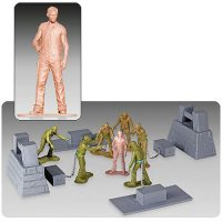 The Walking Dead Army Men Series 2 Woodbury Arena Survivor Mini-Figure Set