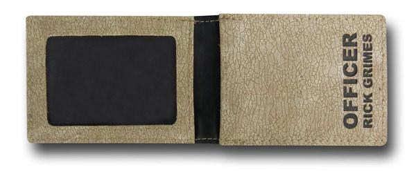 The Walking Dead Badge Wallet