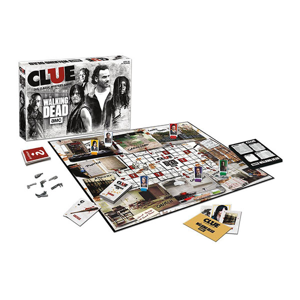 walking dead board game how to play