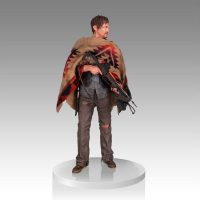 The Walking Dead Daryl Dixon 1:4 Scale Statue Front