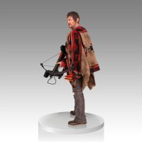 The Walking Dead Daryl Dixon 1:4 Scale Statue Side